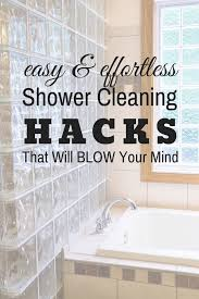 cleaning glass shower doors s
