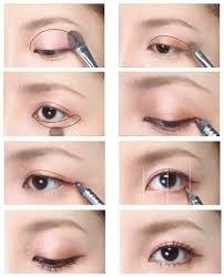eye makeup for monolid and double eyelid
