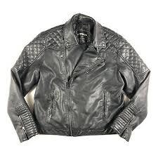 express moto jacket black faux leather