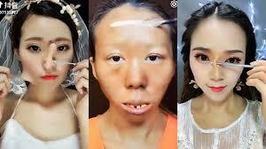 crazy viral asian makeup transformation