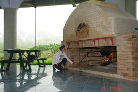 my brick oven fireplace cook food and