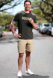 Mitchell Johnson makes seamless switch to brand ambassador   The  Courier-Mail