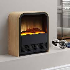 electric fireplace logs small
