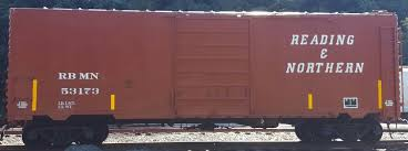 Reading Northern Brown Box Car Decal Set Cmr Products