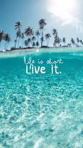 wonderful clear ocean beach life is