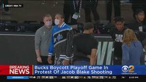 Bucks Boycott NBA Playoff Game In ...