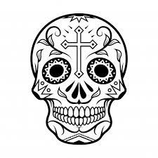 Illustratie Van Skull The Day Of The Death Premium Vector