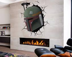 Boba Fett 3d Full Color Decal Star Wars 3d Full Color Etsy
