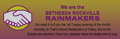 bethesda rockville rainmakers team