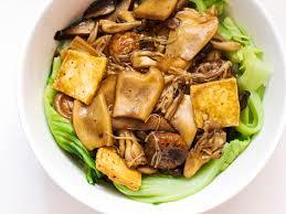 Tofu With Chinese Mustard Greens Recipe ...
