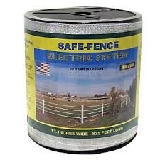 Safe Fence 1 1 2in Wide Poly Tape 825 Ft Statelinetack Com