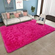 Yoh Super Soft Shag Fur Area Rug Bedroom Buy Online In Jersey At Desertcart