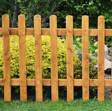 6ft X 3ft 1 83m X 0 9m Pale Picket Fence Panel Forest Garden