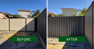 Colorbond Fence Painting Colour Monument Water Features In The Garden House Landscape Backyard Fences