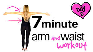 arm exercises for women waist workout