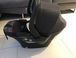 4moms self installing car seat black