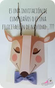 Invitaciones De Cumpleanos O Felicitaciones De Navidad Handbox