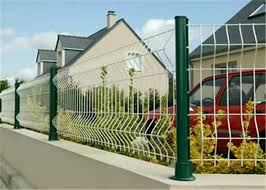 Commercial Welded Wire Mesh Fence 3d Curved Security Mesh Fencing