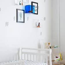 Gray Kids Bedroom With Zebra Rugs Hgtv