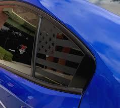 American Flag Side Window Decal For 15 Wrx Sti Rakkasan Motorsports