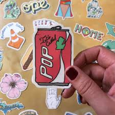 It S Called Pop Michigan Sticker Made In The Mitten