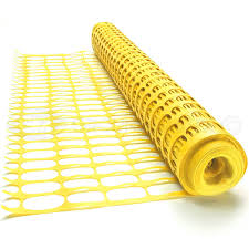 25m Black Groundmaster Plastic Mesh Barrier Safety Fence Gardening Pest Protection