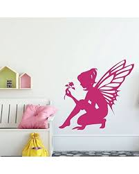 Special Prices On Fairy Wall Decal With Flower Design Vinyl Sticker Decoration For Nursery Girls Bedroom Teen Or Tween Room Decor
