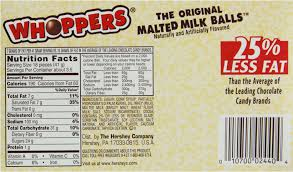 whoppers malted milk 141g recall