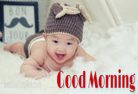 cute good morning baby images pics