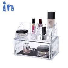 cosmetic makeup brush organizer acrylic