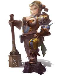 archeage original dwarf female concept