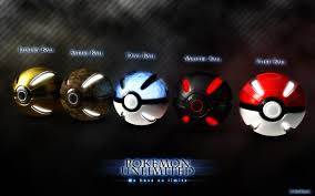 Five assorted-color Pokemon Unlimited Pokeballs HD wallpaper ...