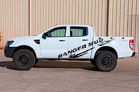 Product 2 Pc Mudslinger Body Rear Tail Side Graphic Vinyl For Ford Ranger Decals