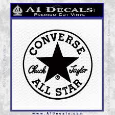 Chuck Taylor Decal Sticker Converse All Stars Cr A1 Decals