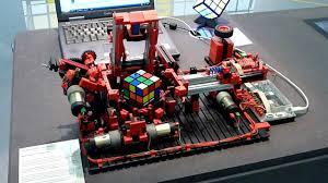 fischertechnik rubik s cube solver