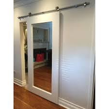 primed shaker mirror door door