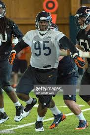 Chicago Bears defensive tackle Ego Ferguson in action during the ...