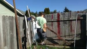 Teleporter Fixes Broken Fence How To Replace Wooden Post With Metal Youtube