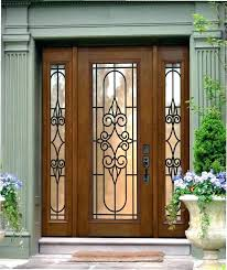 glass front doors s stained entry uk