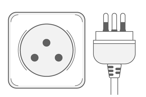 Southeast Asia Travel Adapter: Thailand Type O Adapter