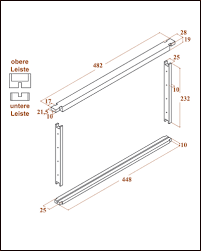 langstroth frames height 232 mm