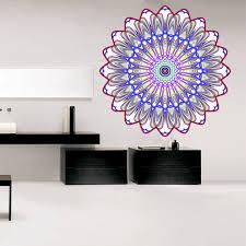 Shop Full Color India Mandala Yoga Ornament Buddha Full Color Wall Decal Sticker Sticker Decal 33 X 33 Overstock 15292577