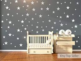 120 White Stars Wall Stickers Wall Dec Buy Online In Macedonia At Desertcart