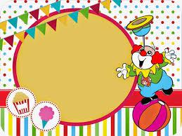 El Circo Invitaciones Y Etiquetas Para Candy Bar Para Imprimir Gratis Invitaciones De Payaso Invitaciones Cumpleanos De Circo