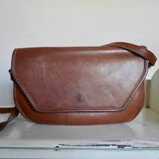 vintage coach rich brown leather