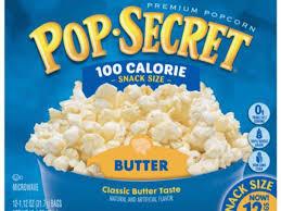 100 calorie pop homestyle popcorns