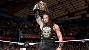 roman reigns winner belt hd