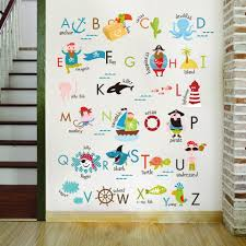 Letter Baby Bedroom Wall Stickers Child Learning Wall Sticker For Kids Room Stickers Baby Boy Girl Room Decor 2018 New Style Wall Stickers Aliexpress