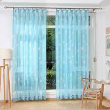 Cute And Dreamy Custom Sheer Curtains For Kids Room