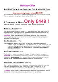 holiday offer beauty studio